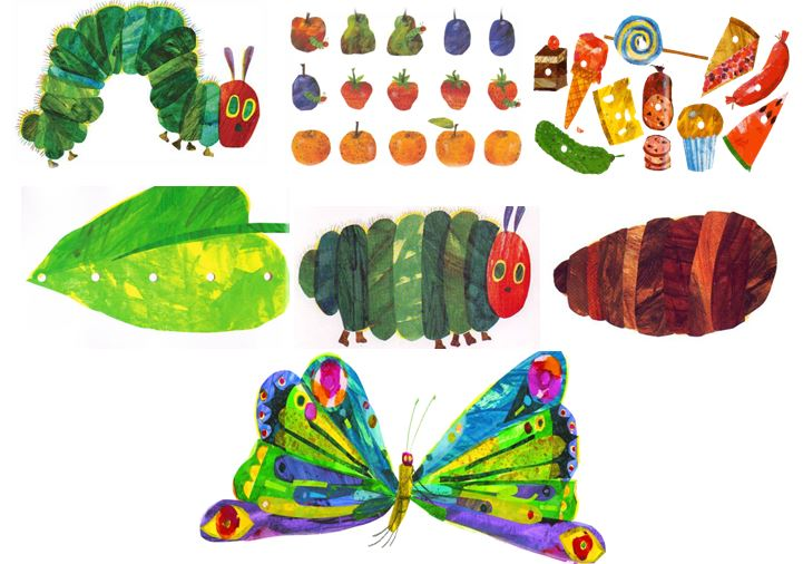 Very Hungry Caterpillar Cocoon Inspiration to Action